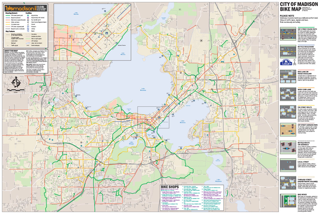 City of Madison's Bike Map | Nicole Hill Arik's Work City Of Madison Map on madison wisconsin us map, city of deer park map, city of delavan map, city of college park map, city of monona map, city of brook park map, city of lexington map, city of new york city map, city of ely nv map, city of alabama map, city of brooklyn map, city of rice lake map, city wi map, city of benson map, madison wi map, city of union city map, city of savage map, city of plant city map, city of wisconsin map, city of oklahoma map,